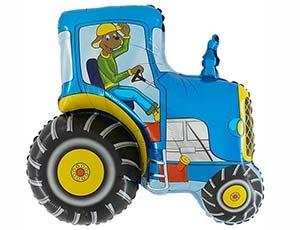 Трактор синий - купить в Химках